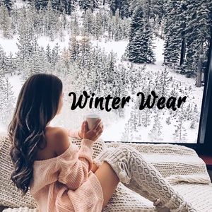 Winter wear - stock up for next winter.